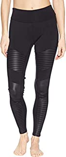 ALO Women's Extreme High-Waist Moto Leggings