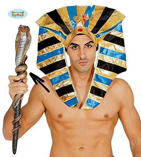 Fiestas Guirca Scettro a Forma di Serpente per Travestimento egizio Faraone Egiziano