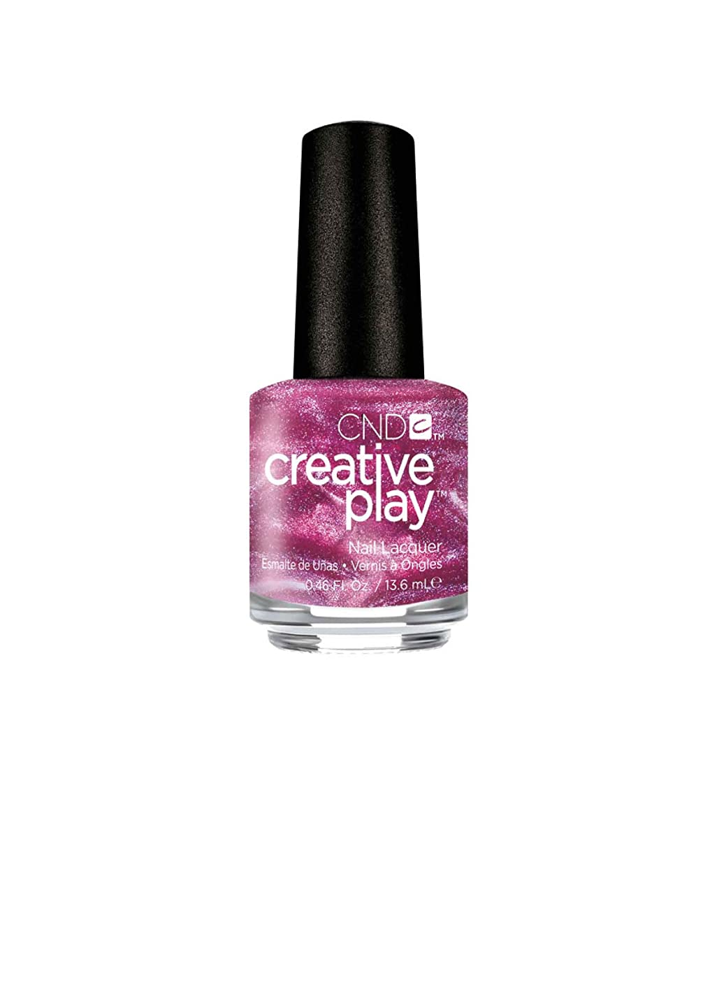 端ジュラシックパーク農学CND Creative Play Lacquer - Pinkidescent - 0.46oz / 13.6ml