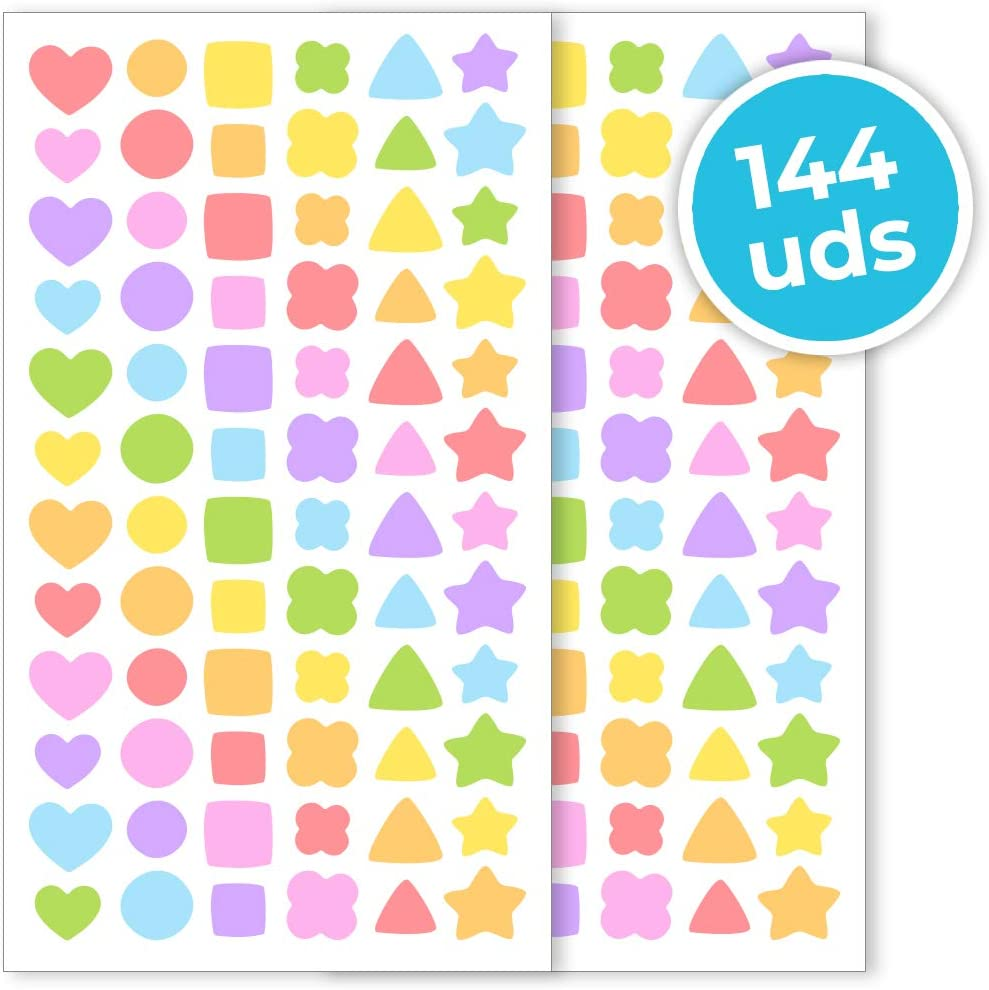 Our shop OFFers the best service Popular Haberdashery Online Stickers for Children Self-Adh Pack of 144
