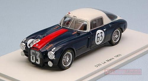 Spark Model S4720 Lancia D20 C N.63 DNF LM 1953 J.F.Gonzales-C.BIONDETTI 1 43 kompatibel mit