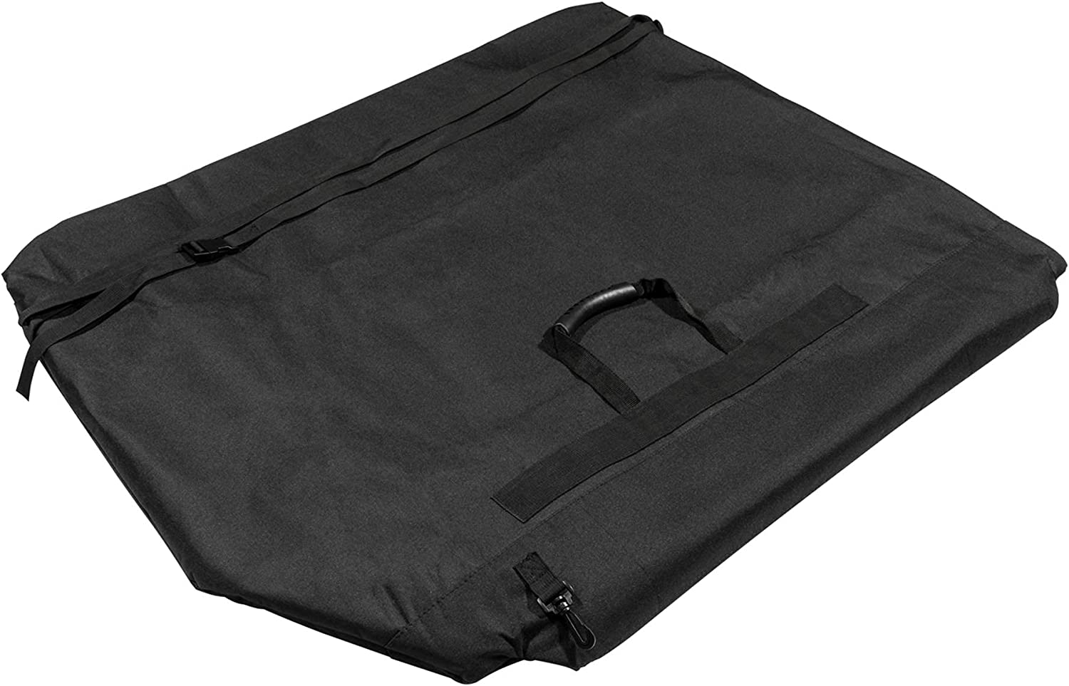 LE-JX Black Freedom Panel Hard Top Storage Bag Baltimore Special price for a limited time Mall Handle with Grab