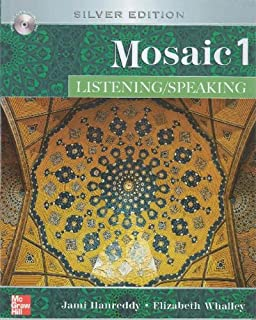Mosaic Level 1 Listening/Speaking Student Book with Audio; Student Key Code for E-Course Pack