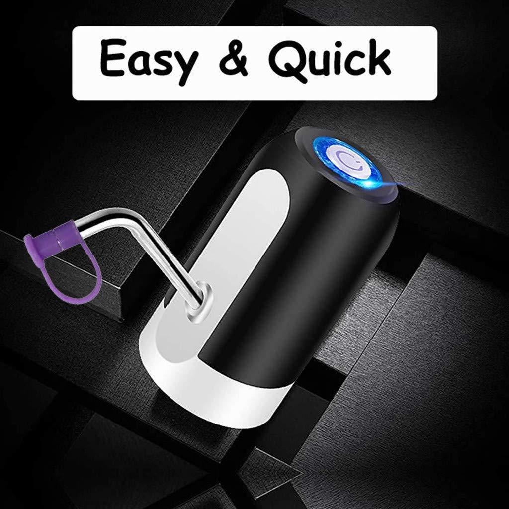 Bomba de agua potable – Cargador USB eléctrico cubo de bombeo ...
