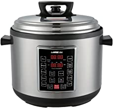GoWISE USA GW22637 4th-Generation Electric Pressure Cooker with rice scooper, and..