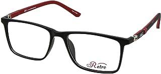 نظارة طبية باطار كامل بلون اسود/احمر سي: 5 M من ريترو 4024، (سو)