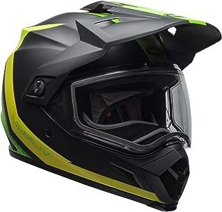 Bell Matte Black/Green/Flo Green MX-9 Adventure Switchback Helmet w/Dual Lens Shield