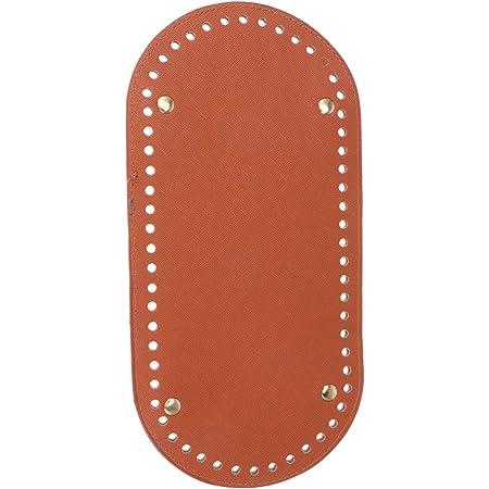 Mrt DIY Bag Hand-bag Eco Leather Bottom for bag basket Oval DSH PU leather bag bottom for Crochet  Knitted bag