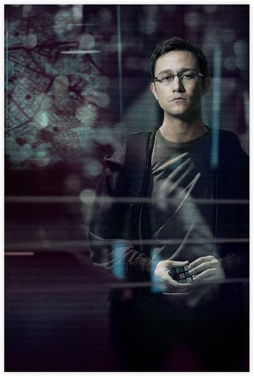 Snowden Classic Popular Movie Cheap mail order sales Poster Wall 70 D All items in the store Canvas Art