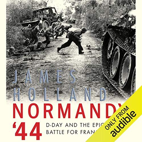 Normandy '44 audiobook cover art