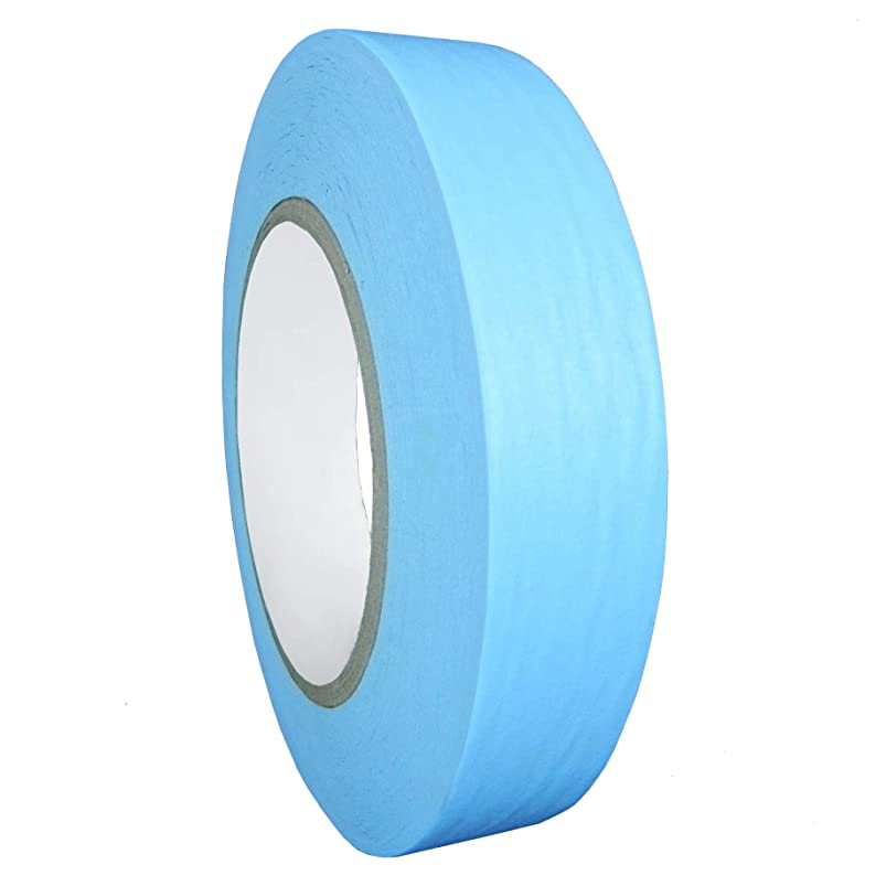WOD CFB-60 Console Artist Tape Light Blue - Flatback Paper Marking/Labeling Tape Residue Free - Acid Free (Available in Multiple Sizes & Colors): 3/8 in. X 60 Yds (Pack of 1) cooltxgx775804