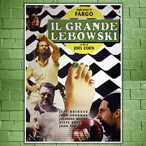 Movie Poster Il Grande Lebowski- The Big Lebowski - Size:70x100 CM