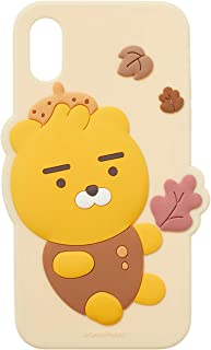 KAKAO FRIENDS Official- Autumn Story Silicone Phone Case, Compatible with iPhone X/XS (Ryan)