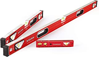 Goldblatt 3-piece Torpedo Spirit Level Set