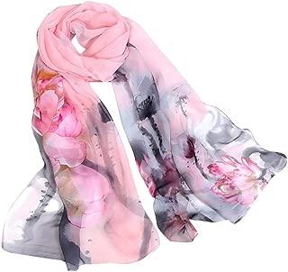 Fashion Scarfs for Women Hot Sale,DEATU Girls Floral/Lotus Printing Long Soft Wrap Scarf Ladies Shawl Scarves