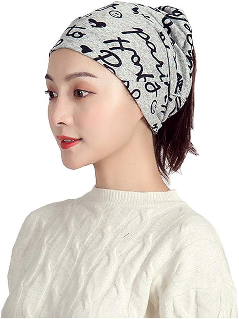 Riou Damen Bandana Kopftuch Baumwolle Halstuch Multifunktionstuch Schlauchtuch Bekleidung