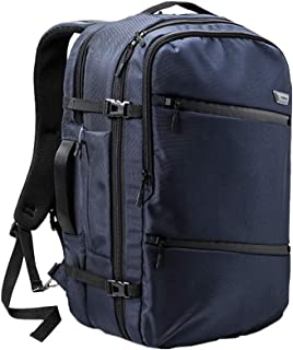 Cabin Max® Tromso Cabin Bag 55 x 35 x 20cm - Perfect Cabin Luggage for Qantas and Jetstar (City Navy)