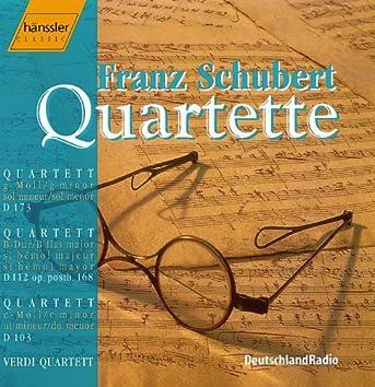 """Schubert: String Quartets Nos. 9-10 and D. 103 """"Quartettsatz"""""""