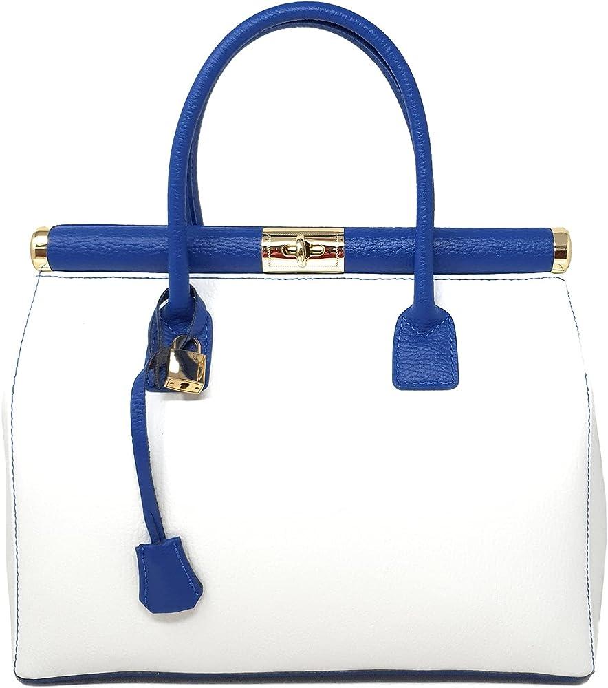 Chicca borse handbag borsa a mano/tracolla da donna in vera pelle DDD8005-PARENT_CTM