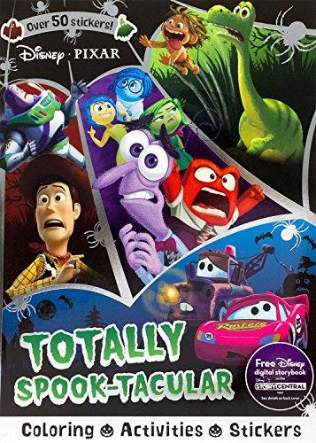Disney Pixar Totally Spook-Tacular (Sticker Scenes & Coloring Book)