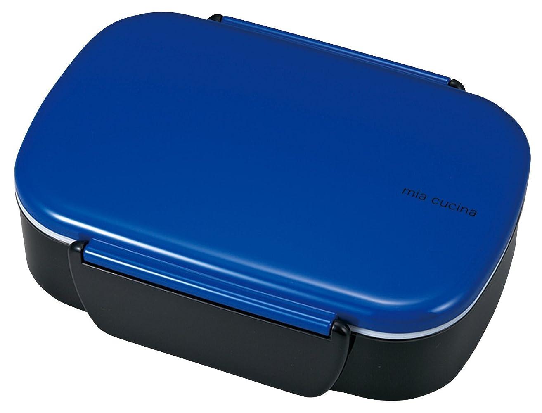 竹中 日本製 お弁当箱 ミア クッチーナ ビッグ タイトランチ ブルー 780ml T-76053