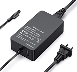 Surface Pro Charger, 44W 15V 2.58A Power Supply for Microsoft Surface Pro 3/4/5/6/Surface Laptop 2/Surface Go & Surface Book (New Surface Pro Charger)