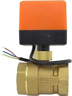 Valvula motorizada 220v electrovalvula normalmente abierta valvula 2 vias calefaccion 1/2 3/4 1 1-1/4 1-1/2 2 pulgada (1-1/4 pulgada DN32)