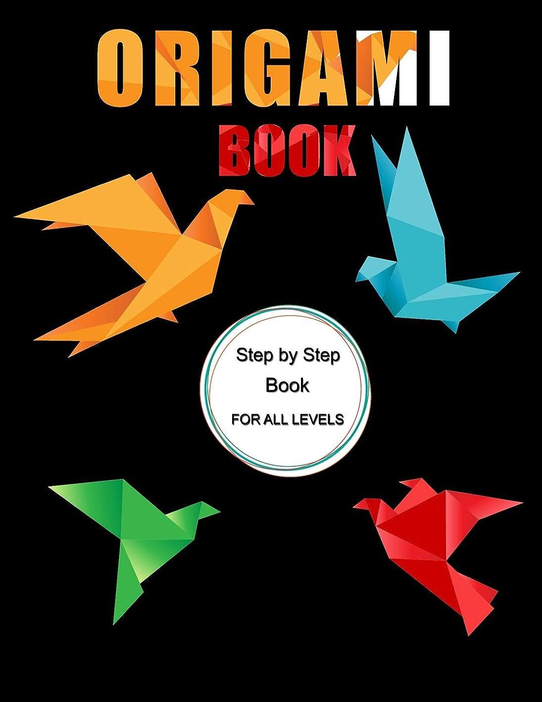探偵衝突する電話するOrigami Book: Step by Step Book for All Levels, Includes Fun Projects, Great for Both Kids and Adults