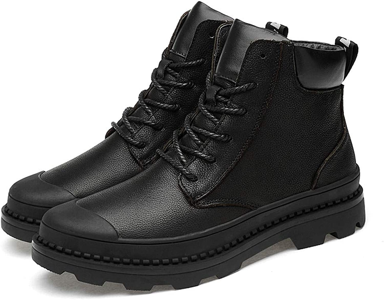 Dig dog bone Men's Fashion Ankle Boots Casual top Lacing Waterproof Outdoor Martin Boots