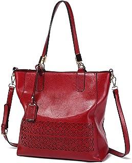 Fanspack Women Tote Bag Large Capacity Multiuse Shoulder Handbag Shoulder Tote Handle Bag