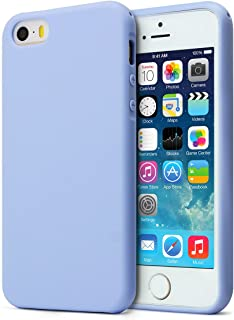 MUNDULEA Matte Case Compatible iPhone 5s/SE/5,Shockproof TPU Ptotective Cover Compatible iPhone SE 5S (Sky Blue)