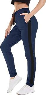 MAGCOMSEN Women's Jogger Pants Zipper Pockets Workout Gym...