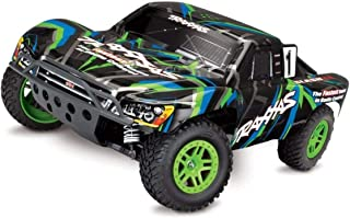 Traxxas 68054-1-GRN Slash 4x4 XL-5 Short Course Truck Green 1/10 Scale 4-Amp DC