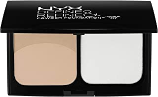 NYX Cosmetics Define & Refine Powder Foundation DRPF02 - Light