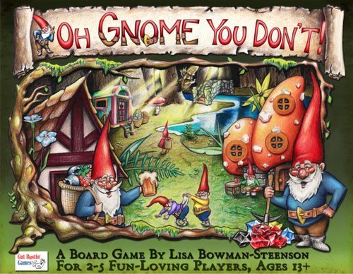 Oh Gnome You Don't Board Game by Gut Bustin' Games
