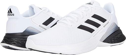 Footwear White/Core Black/Glory Grey