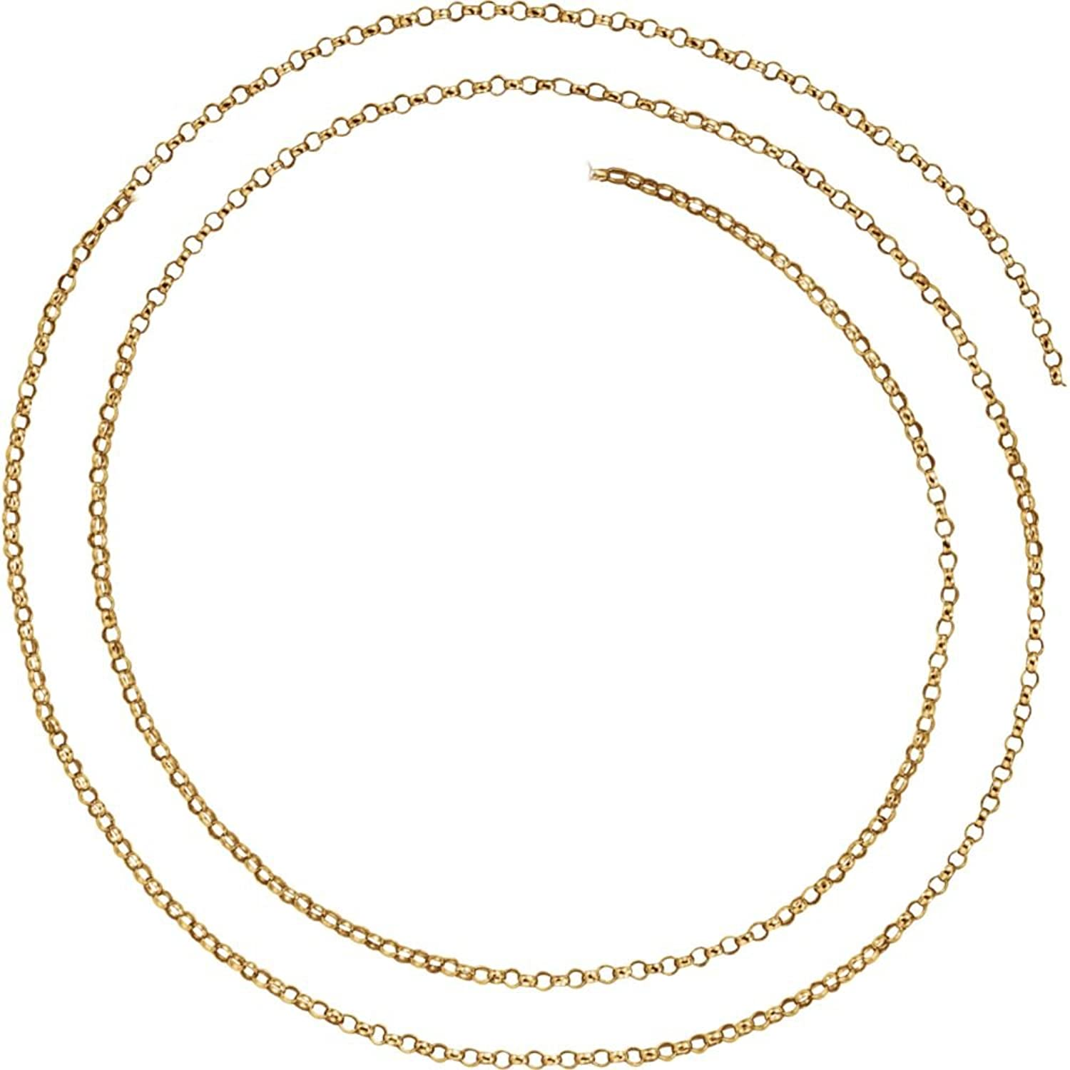 Beautiful Yellow gold 14K Yellowgold Belcher Rolo Chain With Spring Ring comes with a Free Jewelry Gift