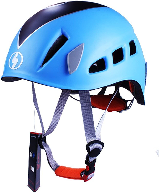GJJ GJJ GJJ Outdoor Helm Kletterschutzhelm, Unisex Schutzhelm Erwachsenen Kletterschutzhelm B07FPJC7Q9  Sorgfältig ausgewählte Materialien 93b015