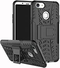 Shockproof Compatible with OPPO F5 Case, Personality Creativity Hyun Pattern Dual Layer Hybrid Armor Kickstand 2 In 1 Shockproof Case Cover Compatible with OPPO F5 / OPPO F5 Youth (Color : Black)