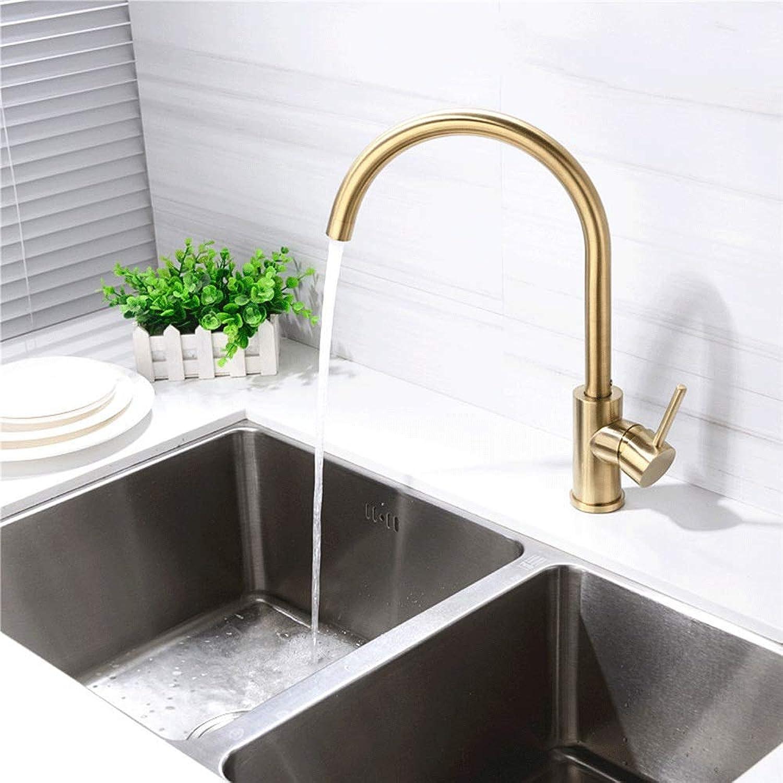 Mountr Gold Küchenarmatur Kalthitze Wasserhahn Universal Drehen Waschbecken Waschbecken Wasserhahn Wasserhahn 5 Jahre Garantie