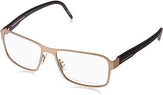 Design Rx Eyeglasses - P8290 D - Matte Gold/Black (56-17-140)