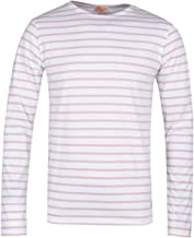 ARMOR LUX Mariniere Pink Long Sleeve T-Shirt