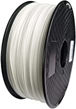 WOL 3D NEW PP POLYPROPYLENE 1.75mm 3D printer Filament Made in India (WHITE)