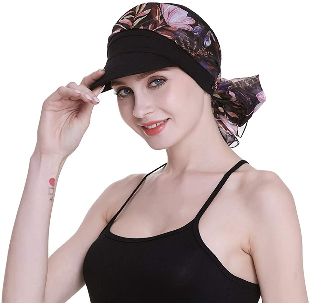 Limited time trial price Newsboy Cap Translated for Women Chemo Headwear Hair Scarfs with Loss Gifts