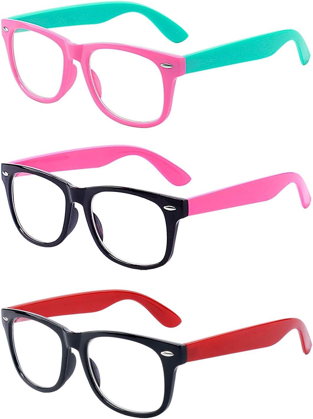 Popular Manufacturer regenerated product standard Outray 3 Pack Kids Blue Light Girls Boys 3-10 Comp Age Glasses