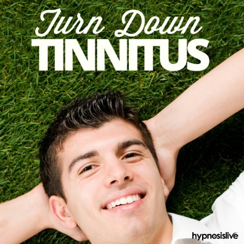 Turn Down Tinnitus Hypnosis audiobook cover art