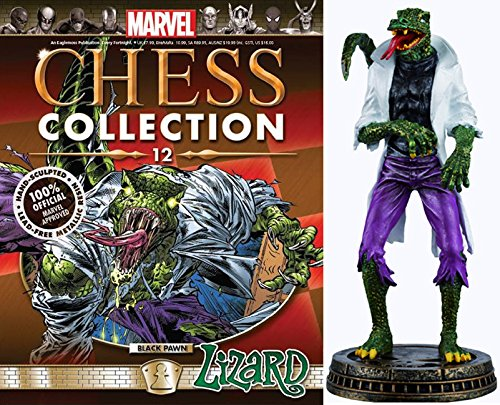 Eaglemoss Marvel Chess Figurine Collection Nº 12 Lizard