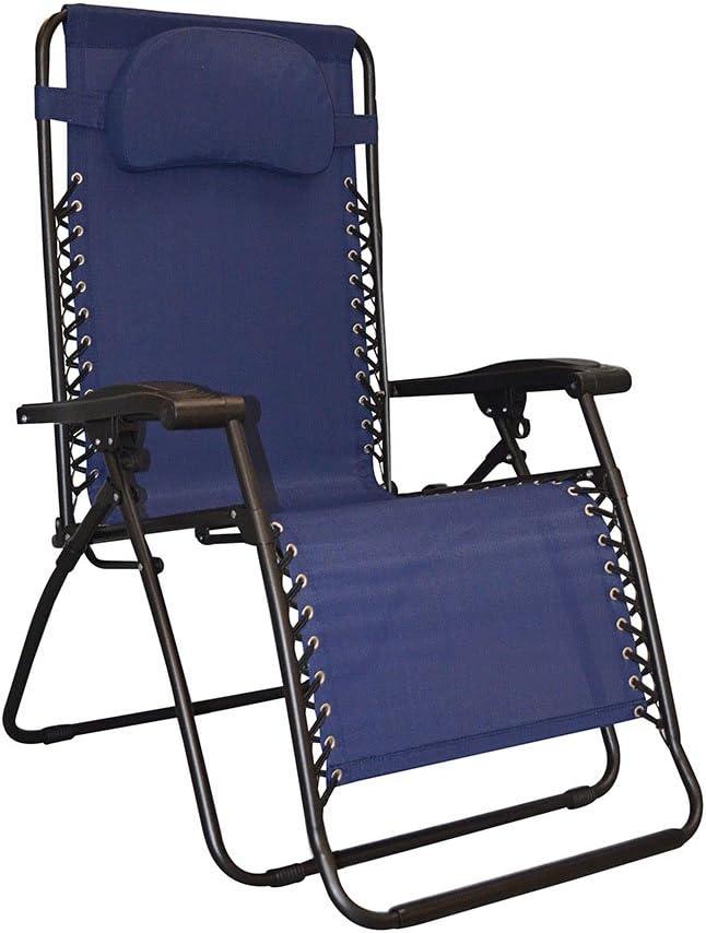 Luxury Caravan Sales for sale Sports Infinity Oversized Zero Gravity Chair Blue
