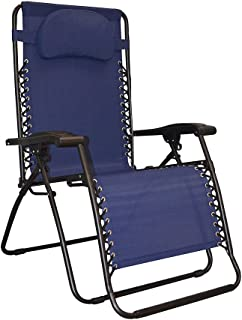 Caravan Sports Infinity Oversized Zero Gravity Chair, Blue
