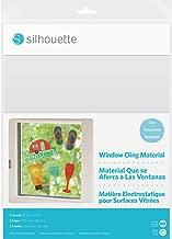 Silhouette Of America Media CLR - calcomanía para Ventana (21,6 x 27,9 cm, 5 Unidades), Transparente
